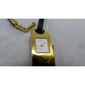Reloj de Cuarzo Suizo GUCCI 6100L Oro de 18Kg