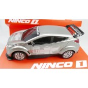 Ninco 55002 Chevrolet WTCC Slot Car 1/32 Grey Silver