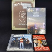 CD Hombres G Box Set CD + DVD + Backstage