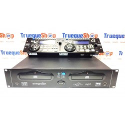 REPRODUCTOR DOBLE MP3 CD-340 USB  IMG STAGE LINE