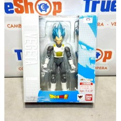 Figura Dragon Ball Vegeta Dios Super Saiyan 15cm