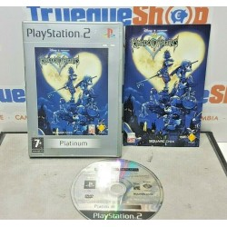 PLAY STATION 2 PS2 KINGDOM HEARTS PLATINUM COMPLETO PAL ESPAÑA