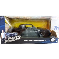 Fast & FuriousBuick Grand National 1:24 negro