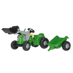 Tractor a pedales Tractor Rollykiddy Green
