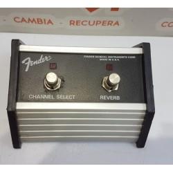 Selector de dos pulsadores para amplificador Fender Reverb