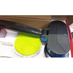 Limpiador de piso, pulidor, dispositivo de limpieza, pulidor de piso, LED a batería azul claro