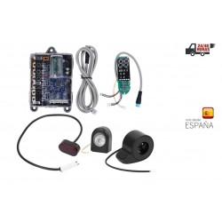 Kit Placa Base Controlador, luz, acelerador xiaomi pro