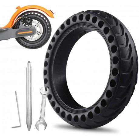 Instalación 2 Neumático Macizo + Mano de Obra