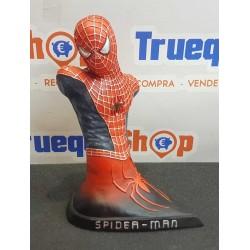 MARVEL : FIGURE SPIDERMAN busto resina 20 cm STATUE SPIDERMAN