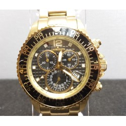 Reloj Pulsera Caballero Lanscotte Dorado