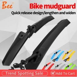 Guardabarros para bicicleta de montaña color negro